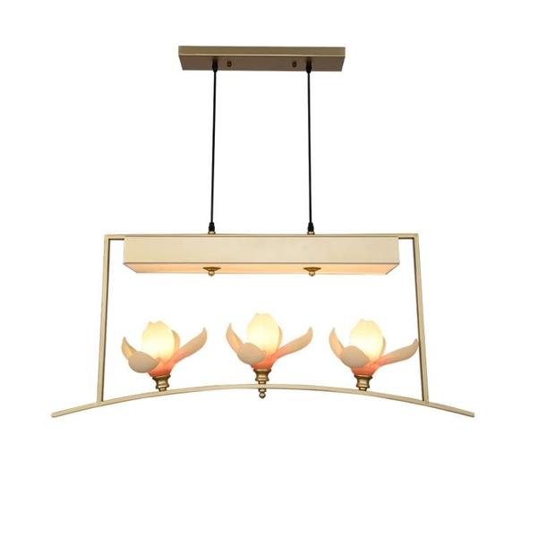 新中式中國風吊燈現代簡約酒店吧臺燈餐廳燈三頭禪意