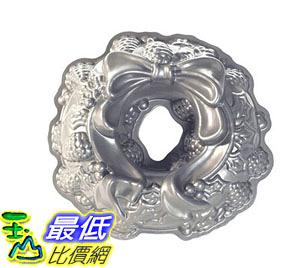 [105美國直購] 花環蛋糕模具 Nordic Ware Platinum Holiday Wreath Bundt Pan B004O3USQ0