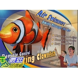 [美國amazon 代購 ] 飛天魚 小丑魚 Air Swimmers Remote Control Flying Clownfish _T01