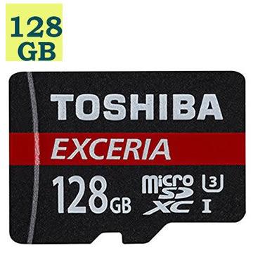 【送讀卡機】TOSHIBA 128GB 128G microSDXC【90MB/s】EXCERIA microSD SDXC UHS U3 4K C10 原廠包裝 手機記憶卡