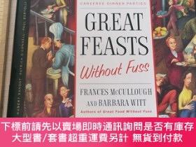 二手書博民逛書店Great罕見feasts without fuss story great stories great food