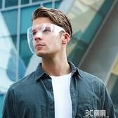 透明防霧護目鏡全臉防護眼鏡防風沙灰塵防風騎行專用炒菜防油濺 3C優購