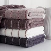 出口外貿條紋款高檔加厚純棉浴巾全棉成人舒適柔軟吸水大浴巾 歡樂聖誕節