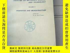 二手書博民逛書店treatise罕見on materials science and technology volume 11 (