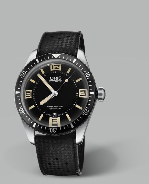 ORIS DIVERS SIXTY-FIVE復刻潛水錶(0173377074064-0742018)黑面/40mm