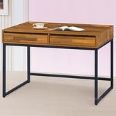 【水晶晶家具/傢俱首選】CX1446-5 布魯斯106公分雙抽集層木書桌