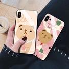 S8/S9/N8/N9三星保護套 S10/S10e/S10 Plus保護殼 三星萌熊可愛創意手機殼 SamSung Note 10 Plus手機套