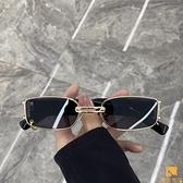 墨鏡女方框潮街拍蹦迪復古朋克太陽鏡百搭眼鏡網美【慢客生活】