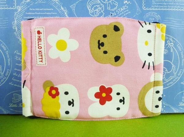【震撼精品百貨】Hello Kitty 凱蒂貓~三麗鷗 KITTY 棉布口罩-復古#10326