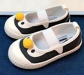 女童休閒鞋 兒童帆布鞋女童一腳蹬軟底休閒鞋寶寶室內鞋男透氣防滑【快速出貨八折搶購】