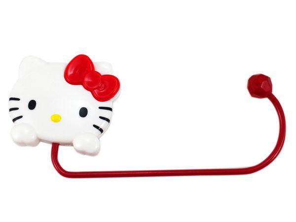 【卡漫城】 Hello Kitty 桌邊型 掛勾 大臉 ㊣版 日版 包包 掛鉤 不需黏貼 隨意 外出 凱蒂貓 桌面 吊掛