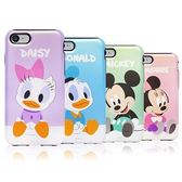 Disney 迪士尼 Baby 珠光 雙層防摔 手機殼│iPhone 5S SE 6 6S 7 8 Plus X XS MAX XR│z7736