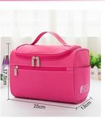 外出旅行帶化妝品收納包大容量便攜化妝包袋女化妝品袋手拿簡約