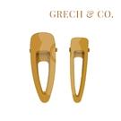 丹麥 Grech&Co. 髮夾二入組 杏黃