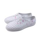 native VERONA 休閒鞋 洞洞鞋 白色 花卉 男女款 11300402-2004 no028