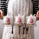 调味罐 收納陶瓷調味罐廚房用品家用調料盒...
