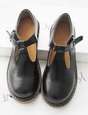 日系復古森女圓頭娃娃鞋單鞋學院風女鞋英倫小皮鞋牛津平底丁字鞋
