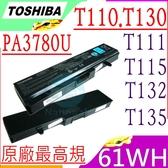 TOSHIBA PA3780U 電池(原廠)-東芝  PABAS215,T110-12U, T110-12T, T110-121,T115D-S1125, T115D-S1121,T130-17W