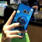三星手機殼s7手機殼s7edge曲面曲屏網紅復古藍光相機s8軟矽膠全包邊防摔s8 /s8plus保護套  台北日光