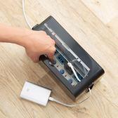 電線盒 桌面電線插排插板收納盒插線板集線盒整理盒 莎拉嘿幼