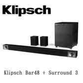 【春節回饋】KLIPSCH 古力奇 5.1 聲道劇院 Bar48 + Surround 3 原廠公司貨