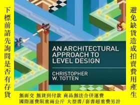 二手書博民逛書店An罕見Architectural Approach To Level Design-層次設計的建築方法Y43