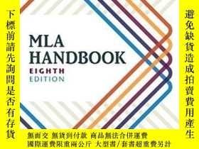 二手書博民逛書店Mla罕見HandbookY364682 The Modern Language Association Of