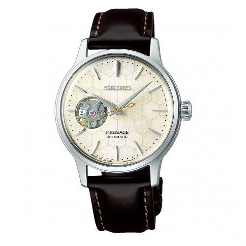 SEIKO PRESAGE 銀座蜂巢限量機械腕錶4R38-01Z0C(SSA781J1)小款33.8mm
