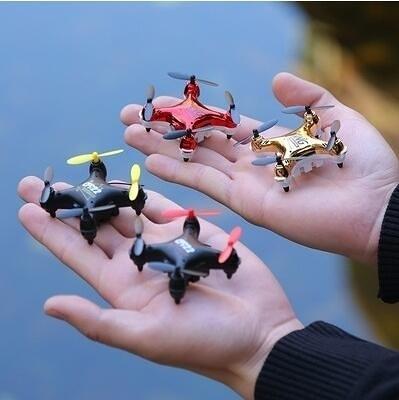 手錶無人機 迷妳小型黑科技手錶無人機專業高清航拍四軸遙控飛機玩具飛行器 免運裝飾界
