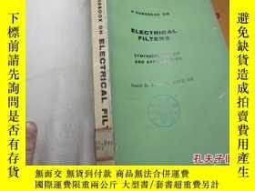 二手書博民逛書店a罕見handbook on electrical filter