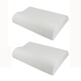 (組)馬來西亞天然乳膠枕曲線型 H12 CM兩入組