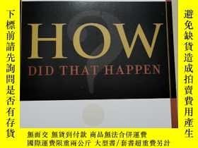 二手書博民逛書店How罕見Did That Happen?Y21144 Tom Smith 著 Penguin ISBN:9