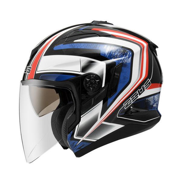 ZEUS瑞獅安全帽,ZS-613B,無帽沿版,AJ6/黑藍