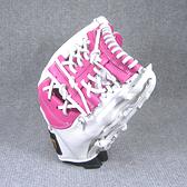 「野球魂中壢店」--「ZETT」特別訂製棒球壘球手套(內野手,39SP0225,粉紅×白色,工字檔)
