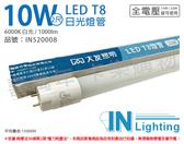 大友照明innotek LED 10W 6000K 白光 全電壓 2尺 T8玻璃日光燈管 _ IN520008