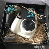 拍立得 禮盒 換購相紙  拍立得 mini7c 白色 兒童相機  立拍得mini7s升級 雙12