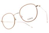CARIN 光學眼鏡 TWIN MORE C3 (粉-玫瑰金) 秀智代言 韓系復古框 # 金橘眼鏡