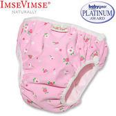 [衣林時尚] 瑞典 Imse Vimse 游泳尿布 兒童泳褲 粉紅小白花