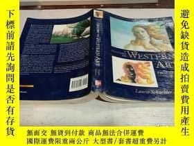 二手書博民逛書店A罕見History of Western Art《西方美術史》Y200392