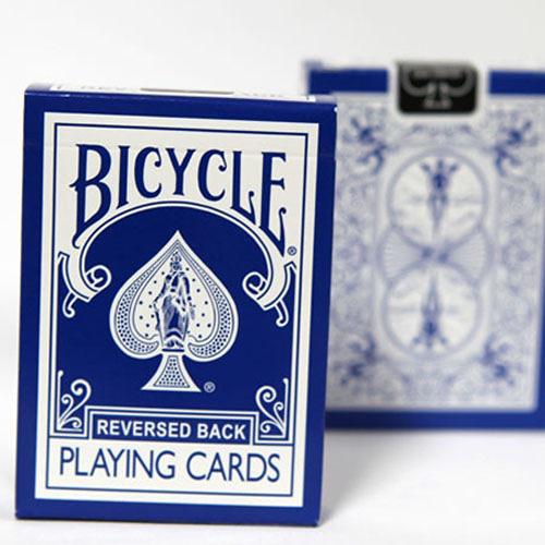 【USPCC撲克】BICYCLE REVERSED 反藍冰2代 (BLUE ice V2)