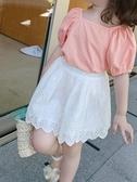 童裝2020新款兒童復古洋氣短裙女童夏季半身裙寶寶韓版裙子 小天使