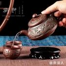 復古青銅器紫砂壺便攜大號原礦朱泥茶壺陶瓷大容量水壺功夫花茶壺 LJ5023【極致男人】