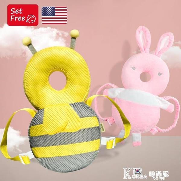 圣菲兒童學步護頭帽神器寶寶防摔頭部保護墊嬰兒護頭枕 Korea時尚記