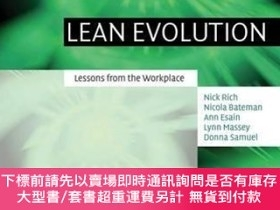 二手書博民逛書店Lean罕見EvolutionY255174 Nick Rich Cambridge Univ Pr 出版2
