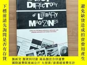 二手書博民逛書店THE罕見1987 DIRECTORY OF LITERARY