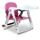 英國 Apramo Flippa dining booster 可攜式兩用兒童餐椅(QTI)-糖果粉[衛立兒生活館]