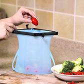 新款可站立矽膠食物袋 食物密封袋 隨機出貨 Z2H96