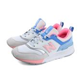 NEW BALANCE 997H系列 復古鞋 運動鞋 白粉藍 女鞋 窄楦 CW997HBC-B no606
