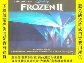 二手書博民逛書店【罕見】英文原版 冰雪奇緣2 精裝電影藝術畫冊設定集 The Art of Frozen 2 進口 Disney