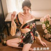 情趣內衣 新款日式和服女士睡衣睡袍極度誘惑性感情趣內衣可愛俏皮角色扮演 薇薇家飾